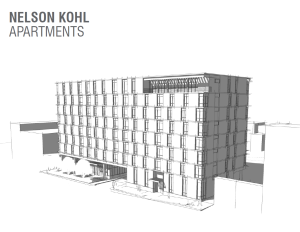 Nelson Kohl Apartments LSC Design