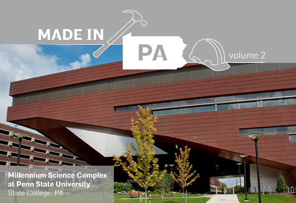 Eagles Nest York Pa >> Made in PA Series – Volume 2 | Glen Gery York Plant – AIA ...